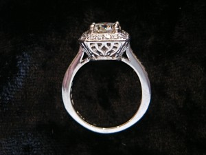 Special ordered Platinum and Diamond Ring
